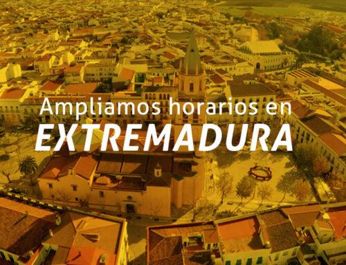 Aumentamos nuestra capacidad de inspección en Extremadura.